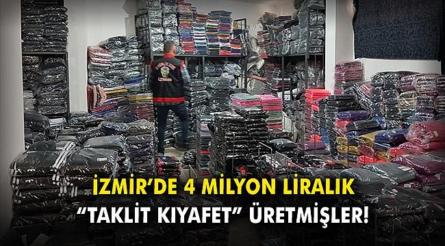 İzmir'de 4 milyon liralık