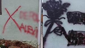 İzmir'de Alevi vatandaşın evinin duvarına yazı yazılmasına Validen açıklama!