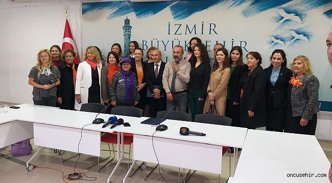 İzmir'de kadın cinayetlerine böyle dikkat çektiler