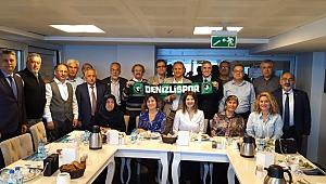 İzmir'deki Denizlililer güç birliği için buluştu!