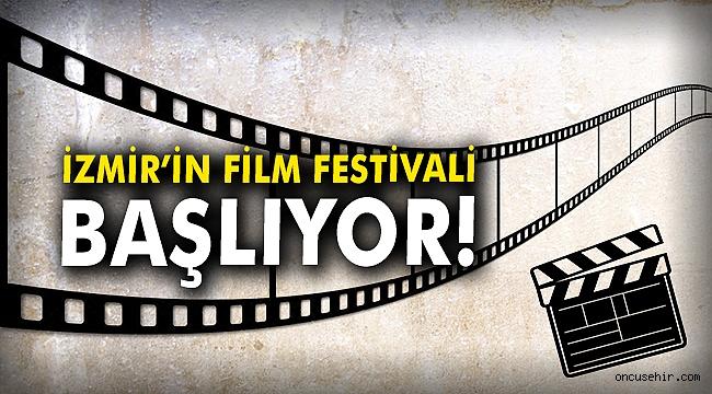 İzmir'in Film Festivali başlıyor!