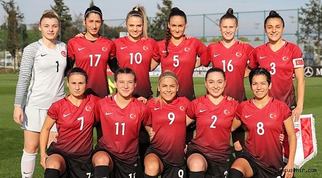 Kadın Milli Takımımız İzmir'de, Hollanda karşısında!