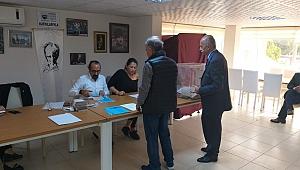 Karşıyaka'nın Nergiz Mahallesi'nde seçim başladı!