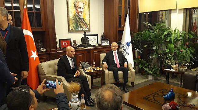 Kılıçdaroğlu'ndan sürpriz Büyükşehir ziyareti