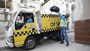 Konak'ta Çöp Taksi dönemi başladı