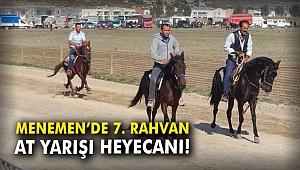 Menemen'de 7. Rahvan At Yarışı heyecanı!