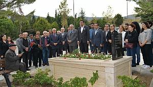 Merhum Başkan Ensari Bulut ölüm yıldönümünde anıldı