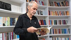 Okumanın yaşı gerçekten yokmuş: 11 ayda 72 kitap okudu