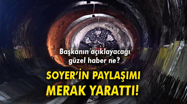 SOYER 'MÜJDEM VAR' DEDİ, YARIN AÇIKLAYACAK!