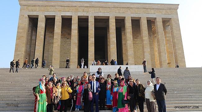 Tahtacı Türkmen kadınlarından Ankara çıkarması