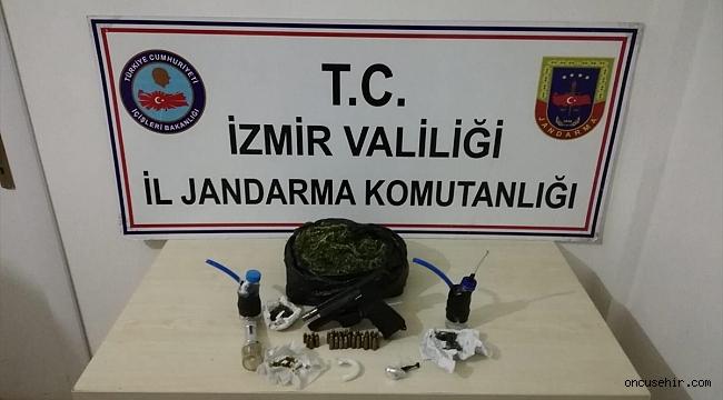 Tekel bayisine uyuşturucu operasyonu: Sahibi cezaevi firarisi çıktı