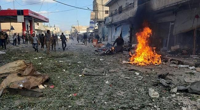 Tel Abyad'da pazar yerine bombalı saldırıda 13 sivil öldü