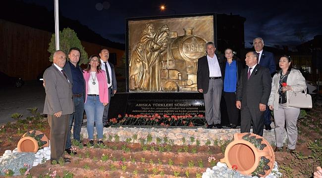 Başkan Aksoy: Ahıska Türkleri bizim kardeşlerimiz, dostumuzdur