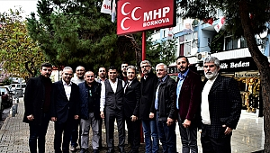 Başkan İduğ'dan AK Parti ve MHP ilçe teşkilatlarına ziyaret