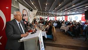 Başkan Selvitopu: Kadın yaşamın her alanında olmalı