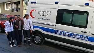 Bayraklı'da 2 bin hastaya ambulans hizmeti