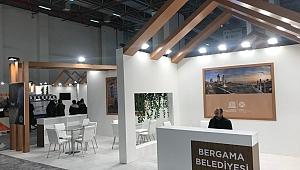 Bergama Belediyesi Travel Turkey Fuarı için son hazırlıkları yapıyor
