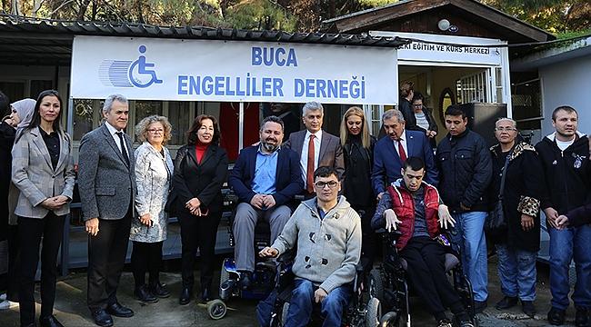 Buca'da engelliler için KPSS eğitimi başladı