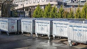 Buca'da konteyner mesaisi: Eskiler yenilendi, eksikler giderildi