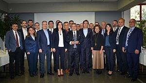 CEO'lar ESBAŞ'ta KalDer toplantısında buluştu