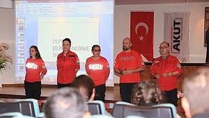 Efes Selçuk Belediyesi personeline deprem eğitimi