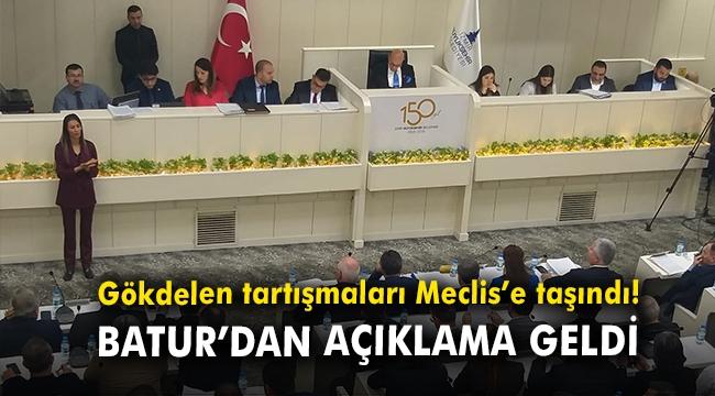 Gökdelen tartışmaları Meclis'e taşındı! Batur'dan açıklama geldi