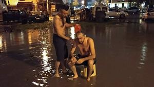 İzmir'de su kesintisine ilginç tepki...