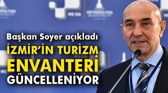 İzmir'in turizm envanteri güncelleniyor