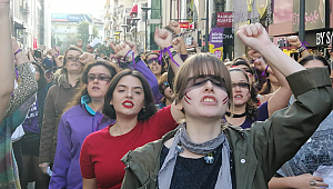 Kıbrıs Şehitleri'nde kadın sesleri yükseldi