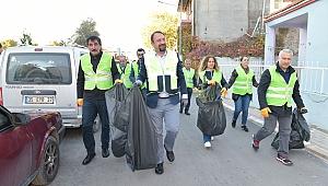 Köyiçi Mahallesinde temizlik seferberliği