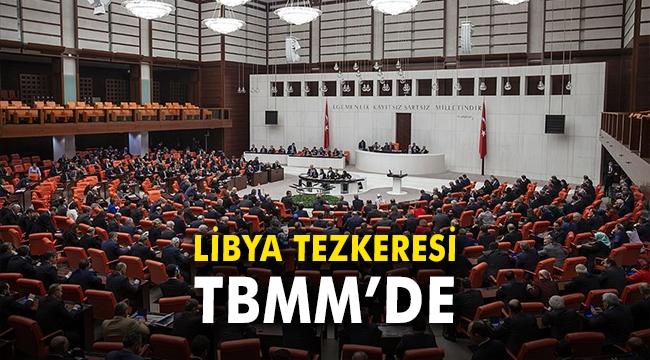 Libya tezkeresi TBMM'de