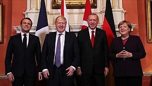 Londra'da Dörtlü Suriye Zirvesi:
