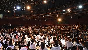 Narlıdere'nin çocuklarından konser