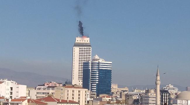 Ünlü otelden yükselen dumanlar korkuttu!