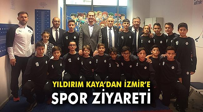 Yıldırım Kaya'dan İzmir'e spor ziyareti
