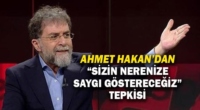 Ahmet Hakan'dan