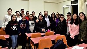 Başkan İduğ öğrencilerle buluştu