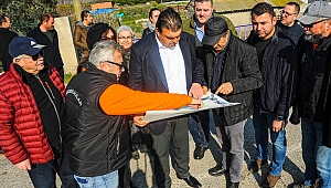Başkan Yetişkin Düzce Köyü'nü sanatla buluşturuyor