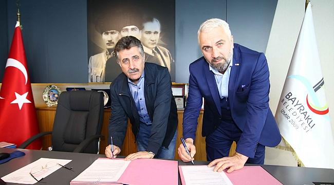 Bayraklı'da Türk Kızılayı ile 'sosyal yardım' protokolü!