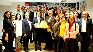 Bornova'dan Yücel'e teşekkür ve destek