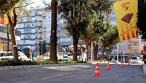 Büyükşehir Göztepe Stadı'nın çevresi yenilendi