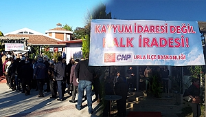 CHP kayyuma sessiz kalmadı