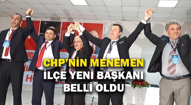 CHP'nin Menemen İlçe yeni başkanı belli oldu