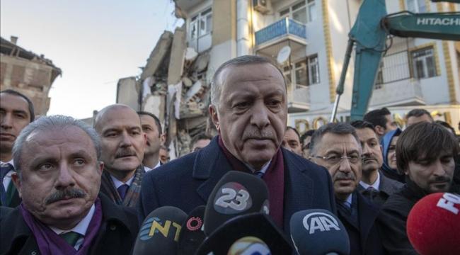 Erdoğan: Çelik konstrüksiyonla kalıcı konutlar yapacağız
