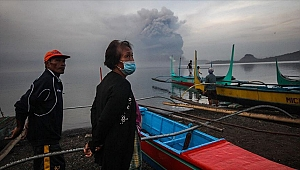 Filipinler'de Taal patladı 82 bin kişi tahliye edildi