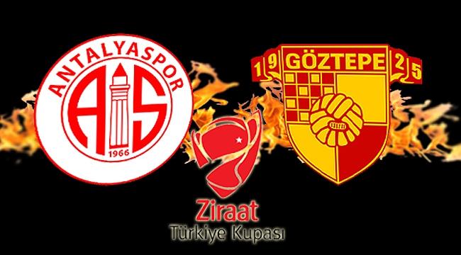 Göztepe, Ziraat Türkiye Kupası'nda Antalyaspor'u konuk edecek