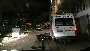 İzmir'de uyuşturucu kullandığı iddia edilen kişi öldü