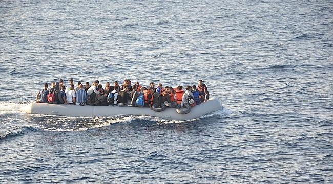 İzmir'in 5 ilçesinde 181 göçmen yakalandı
