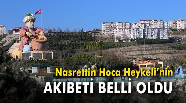 İzmir'in simgesi Nasrettin Hoca Heykeli'nin ihale süreci tamamlandı