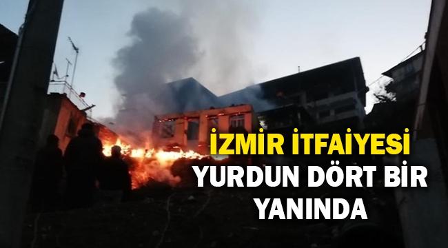 İzmir İtfaiyesi yurdun dört bir yanında